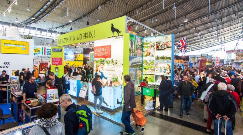 Das Bild zeigt den neuen Messestand der WMG auf der Messe CMT in Stuttgart.