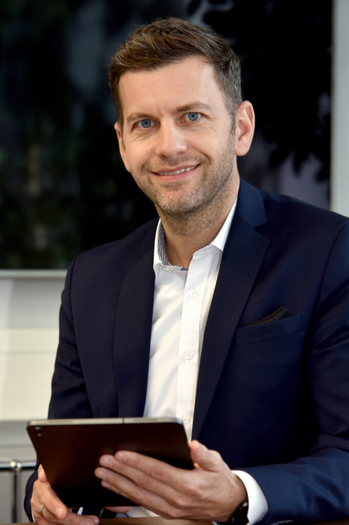 Wirtschafts- und Digitaldezernent Dennis Weilmann