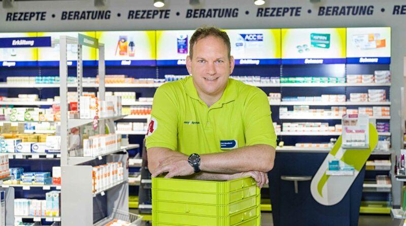 Lars Haselhorst kann sich die Mobilität der Wolfsburger Apotheker auch in elektronisch vorstellen