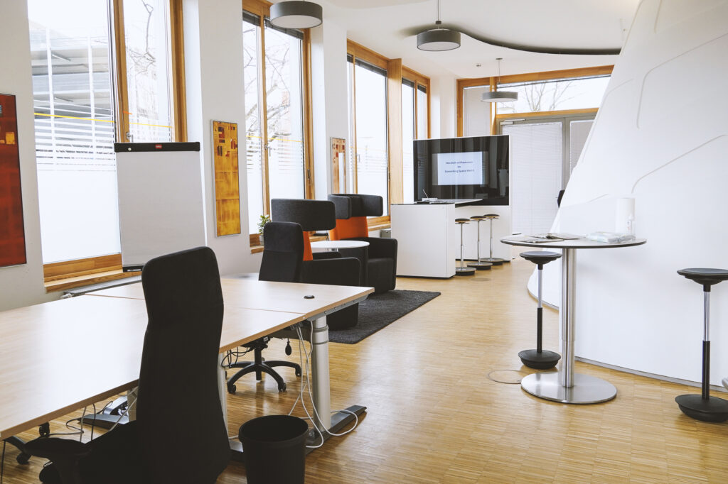 Co-Working-Space im MH11 im InnovationsCampus