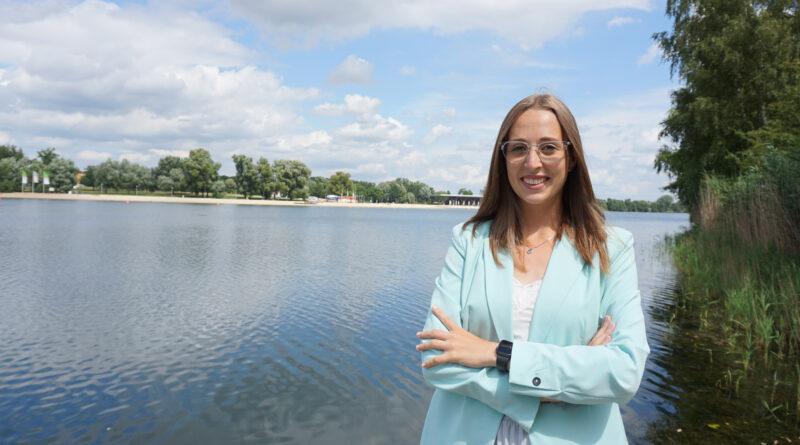 Luisa Bohs ist neue Quartiersmanagerin im Allerpark