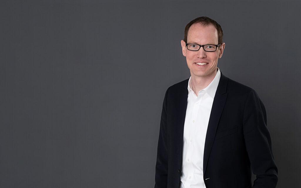 Hendrik Welp, Prokurist bei der Entwicklungs- und Wirtschaftsförderungsgesellschaft für Rheine mbH