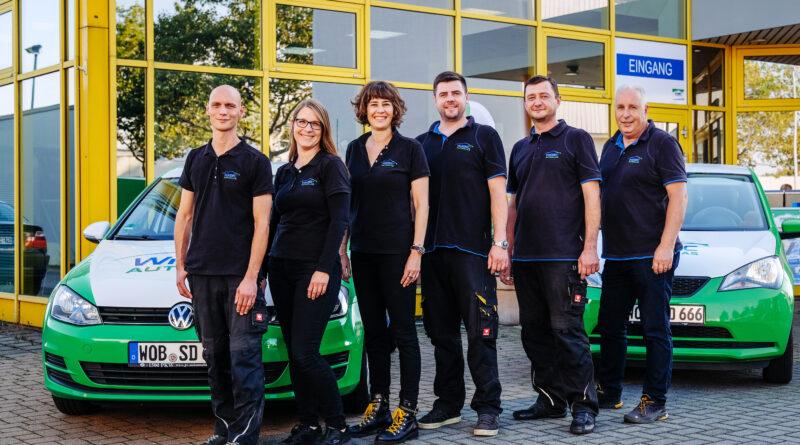Teamfoto der DIE SCHMIDT Autoglas GmbH