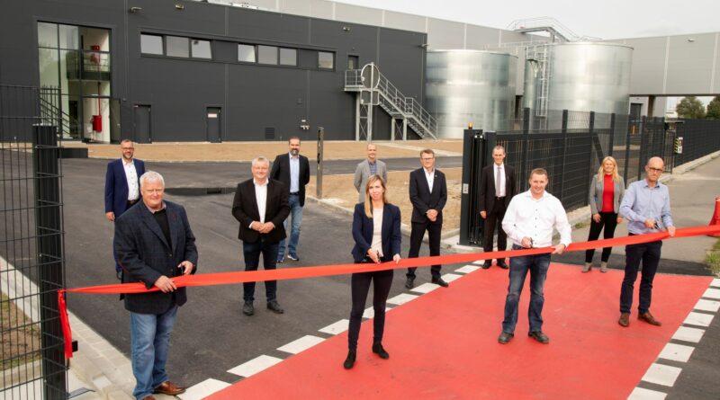 Die neue Halle von Sitech für Bezügekommissionierung in Sandkamp wurde zeremoniell am 28. September 2021 eröffnet.